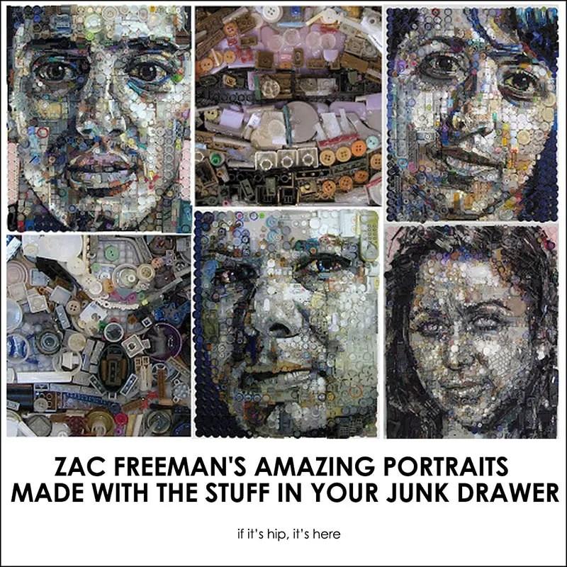 zac freeman mosaic portraits