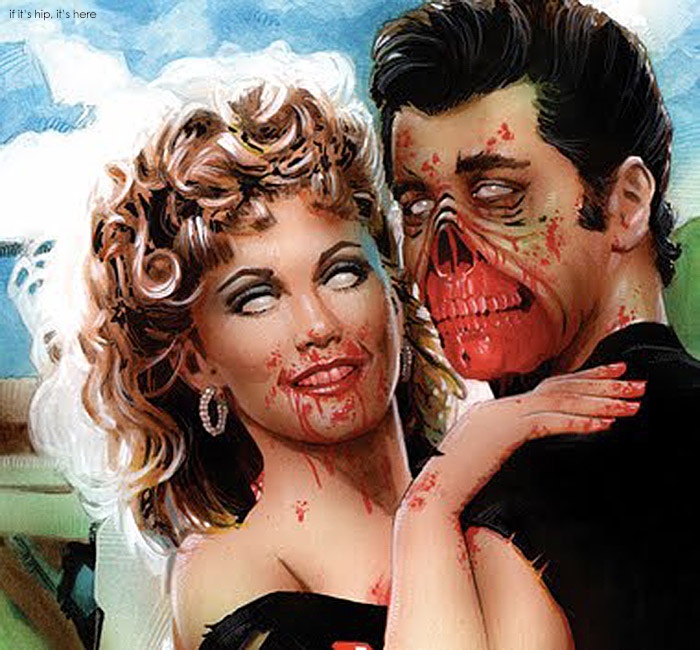 grease zombie detail