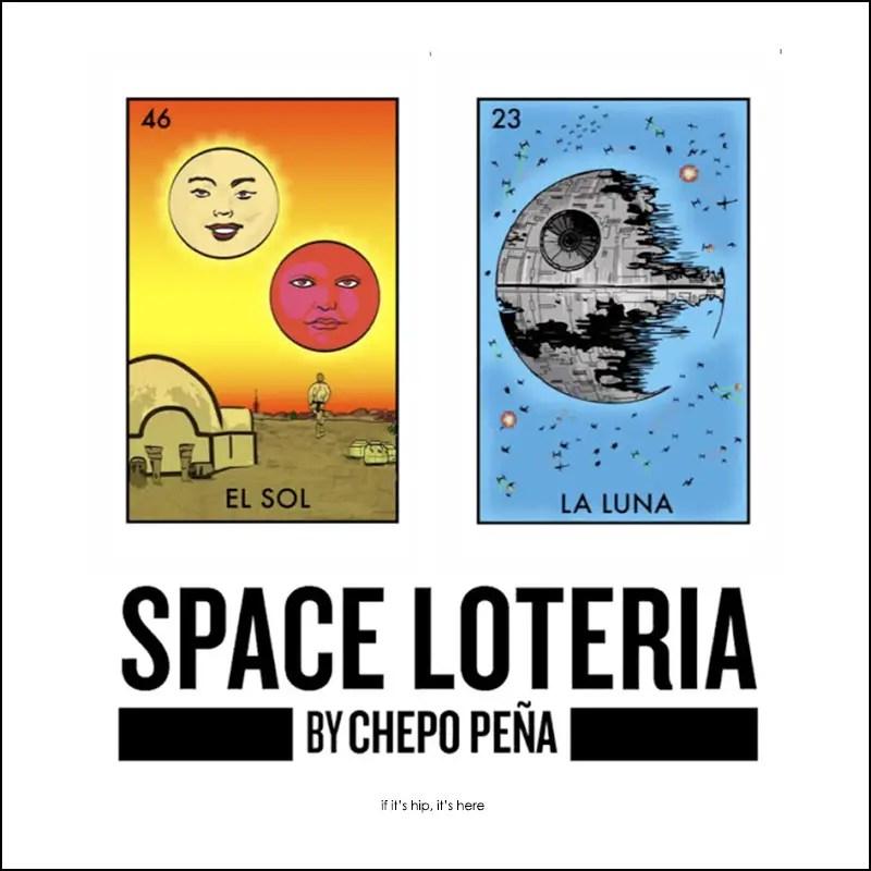 Space Loteria Mexican Bingo