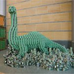 Canstruction – Food Can Sculptures [75 images] Help Raise Hunger Awareness.