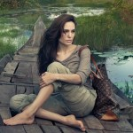 Angelina Jolie for Louis Vuitton. The Print Ad, Video Teaser & More.