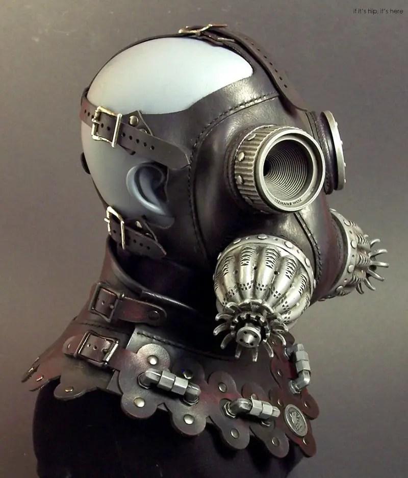 Steampun gas masks