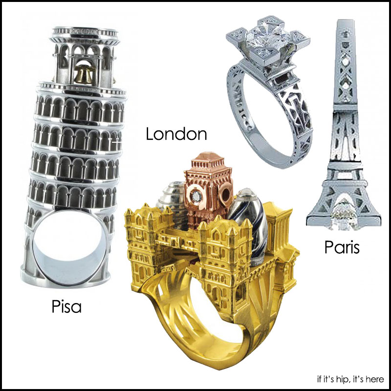 New Philippe Tournaire Rings