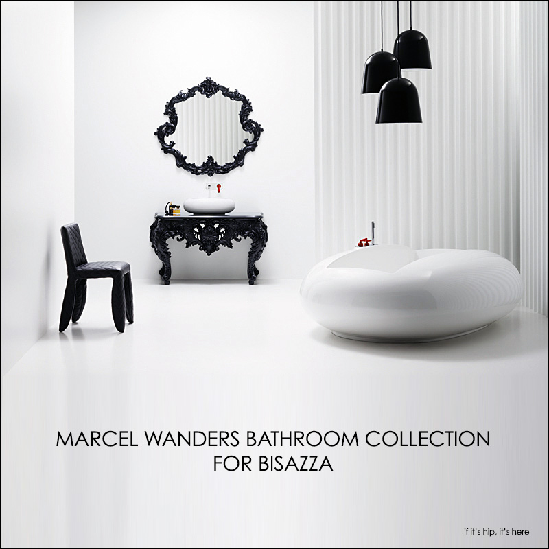 Marcel Wanders bath collection for bisazza
