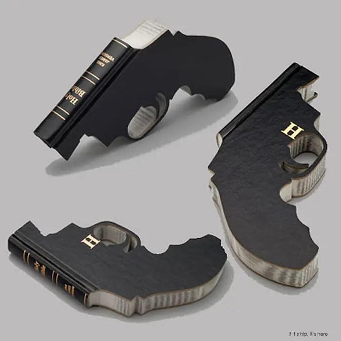 Bookguns by artist Robert The