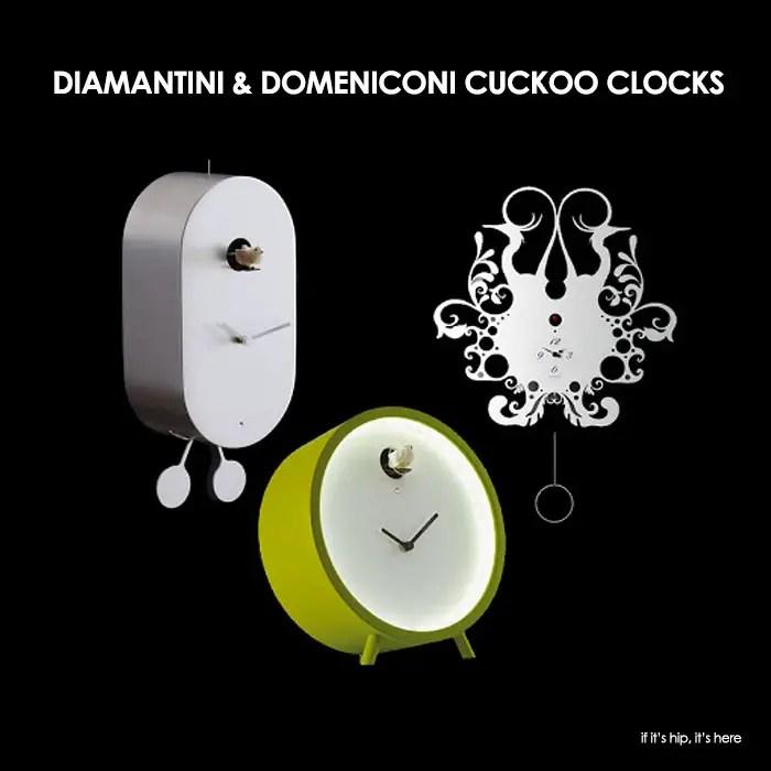 Diamantini and Domeniconi Cuckoo Clocks