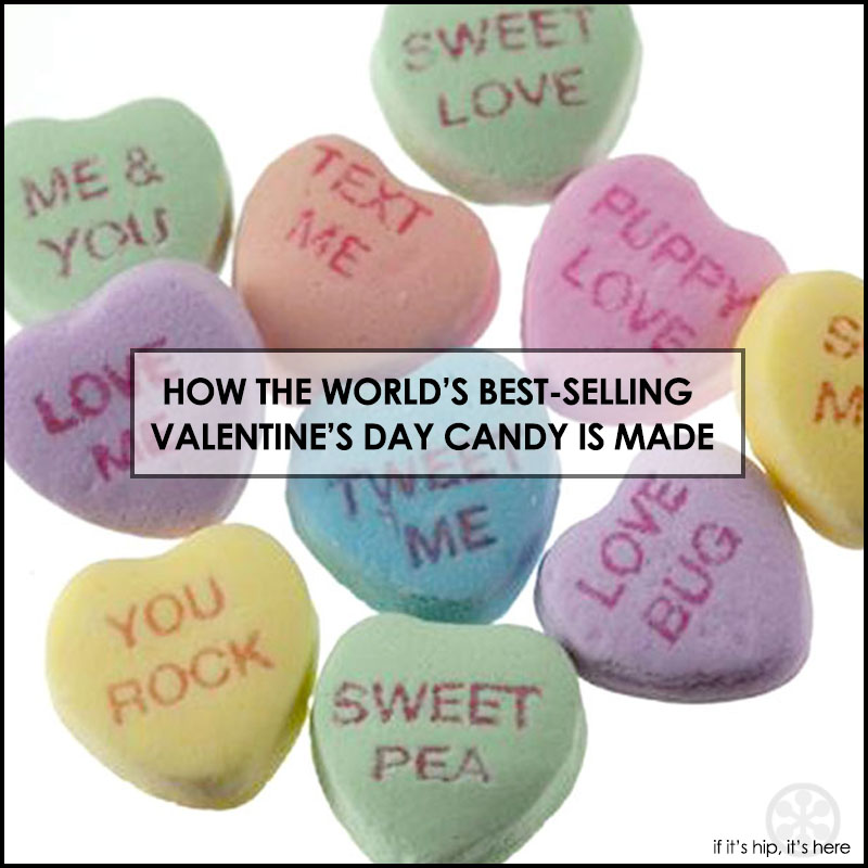 How Conversation hearts are made