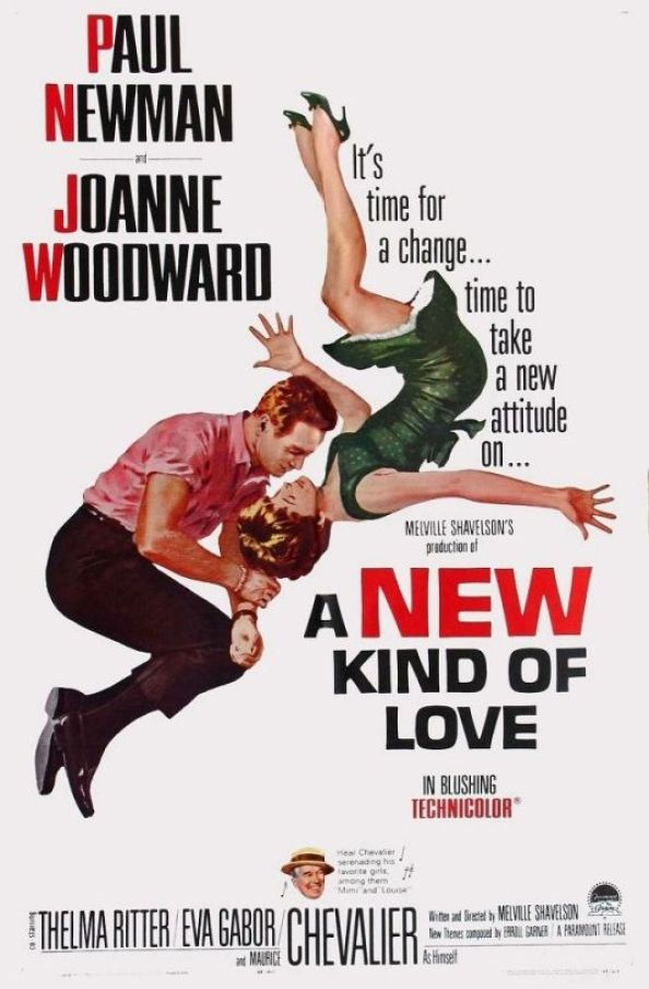 paul newman joanne woodward a new kind of love