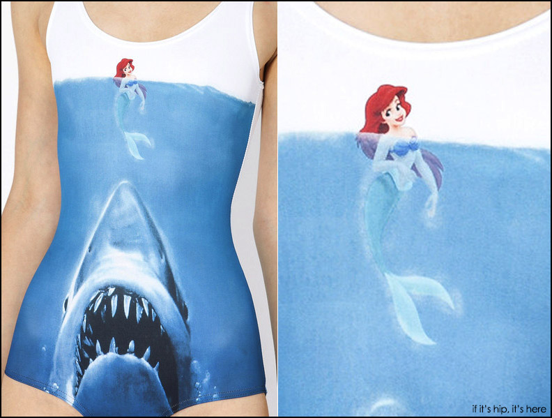 JAWS vs Ariel swimsuit