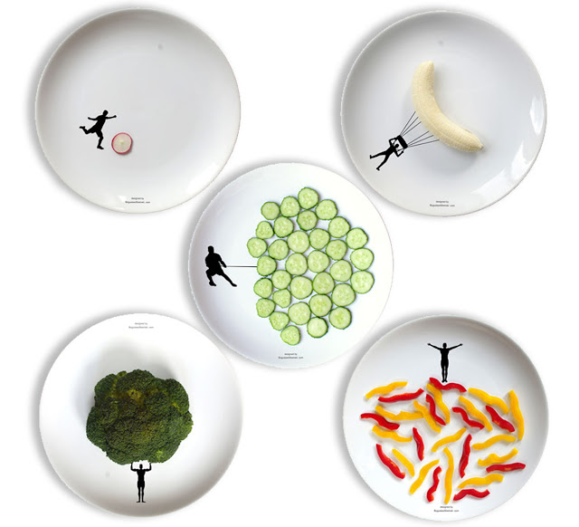 Read more about the article New Sport Plates For Interactive Food Fun By Designer Boguslaw Sliwiński.