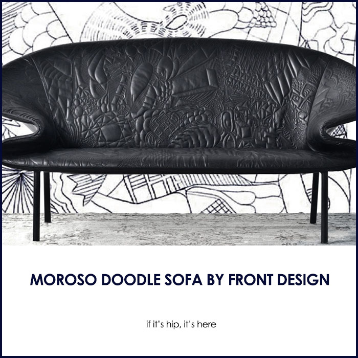 Moroso Doodle Sofa by Front Design