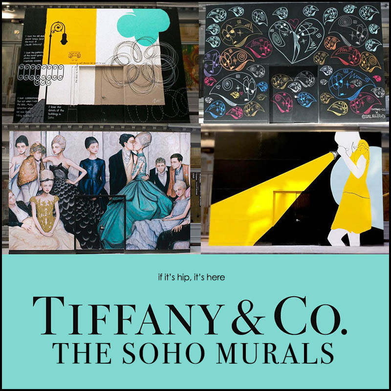 The Tiffany Soho Murals by Four Contemporary Street Artists