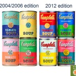 Warhol-Inspired Campbell's Soup Cans Are An Old Recipe. How Are These Different?