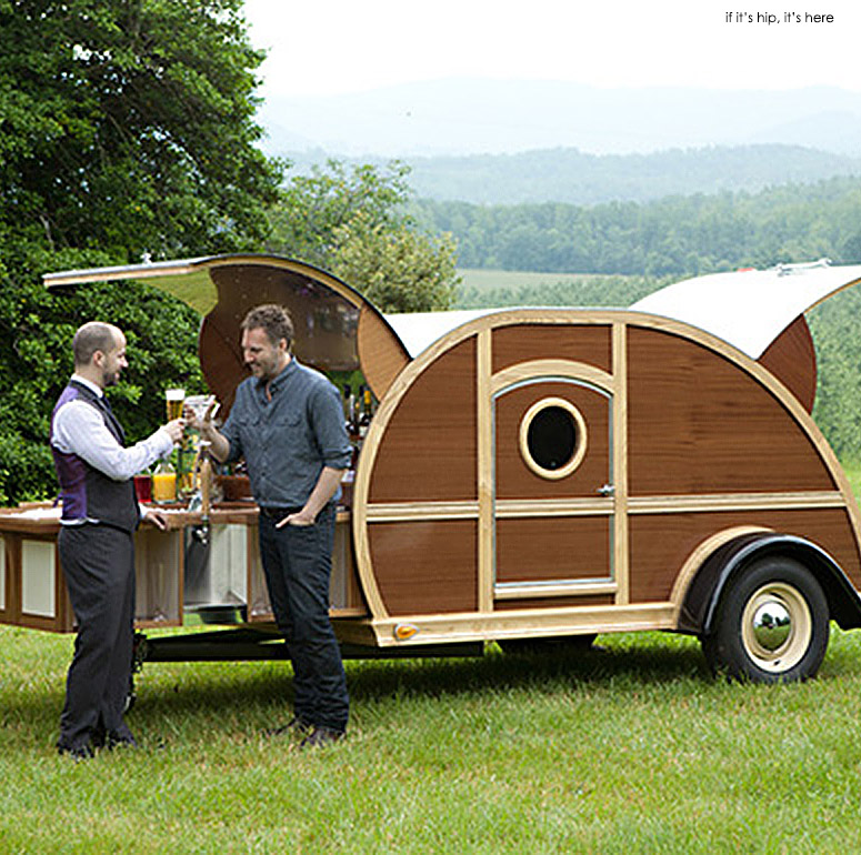 Bulleit Woody Whiskey Trailer