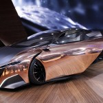 Peugeot's Onyx Concept Supercar, Superbike and Superscooter Wrap Hybrid Technology and Beauty In Shiny Copper and Matte Black.