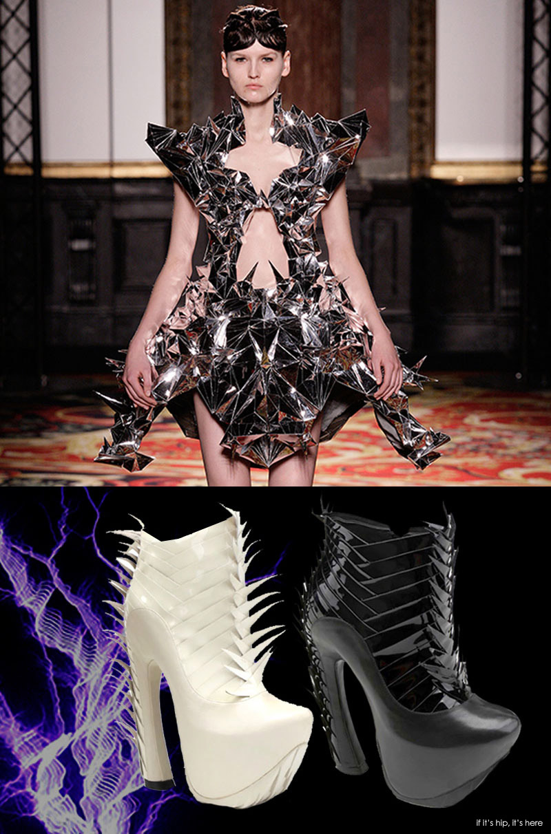 Voltage shockingly cool couture by iris van herpen with for Couture fashion designers