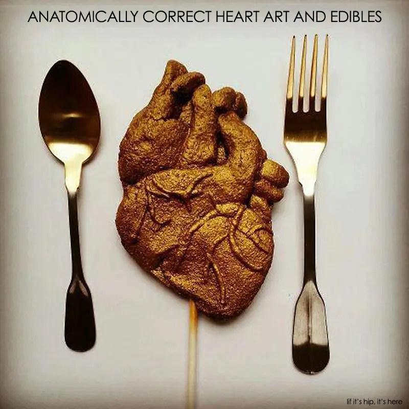 anatomically correct heart art and edibles