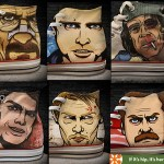 Custom Kicks Feature Pop Culture Anti-Heroes from Breaking Bad, Walking Dead, Parks & Recreation, Dexter & Shameless.