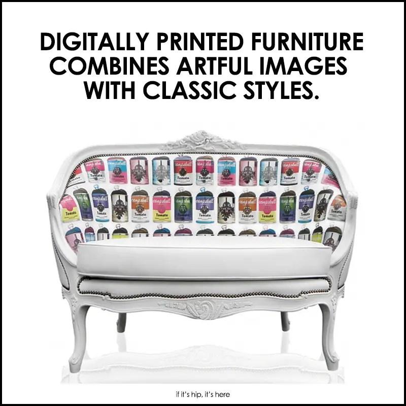teo jasmin digitally printed furniture