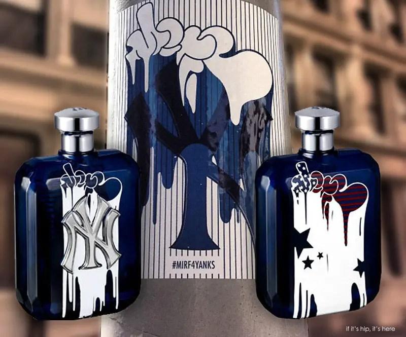 NY Yankees MIRF fragrance HERO 2 IIHIH