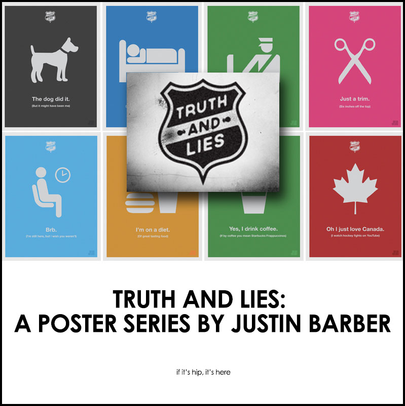 truth and lies posters