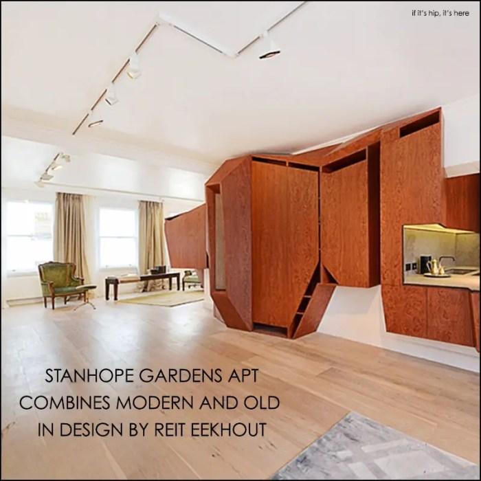 stanhope gardens apartment by reit eeckhout