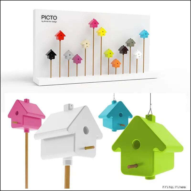 PICTO bird house
