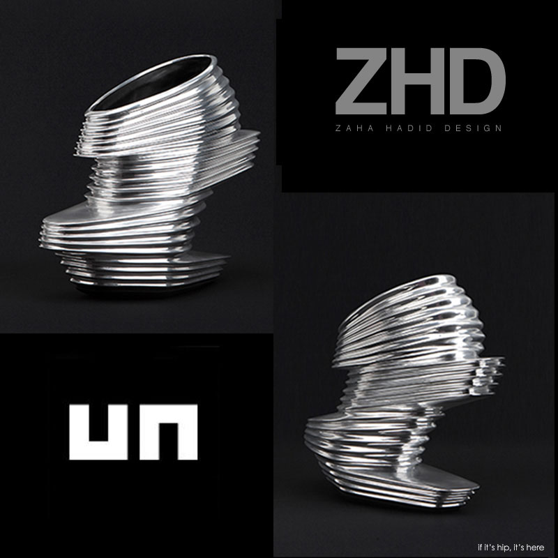 Zaha Hadid shoes for United Nude
