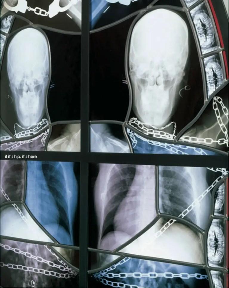 Stained Glass Windows by Wim Delvoye