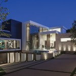 PART TWO: Modern Mansion With Wrap Around Pool and Glass-Walled Garage For $36 Million. (50 pics)