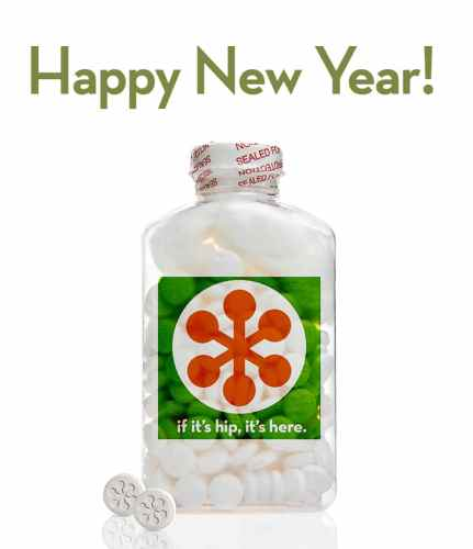 Read more about the article Happy New Year With Love From If It's Hip, It's Here