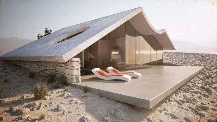 Modern Desert Villa Retreat