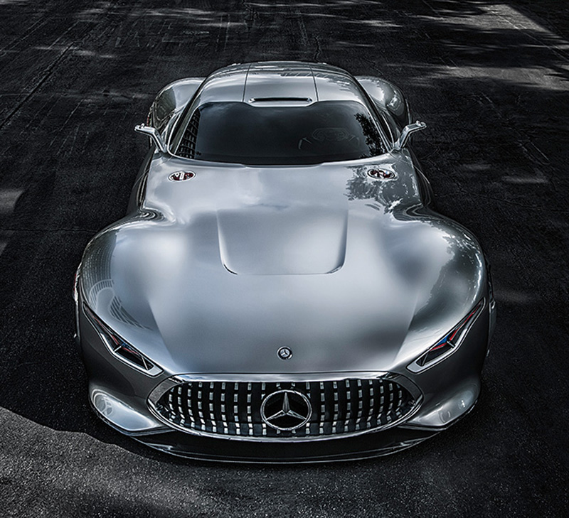 Mercedes Benz Designs A Wicked Car Inspired By A Video Racing Game: The AMG  Vision Gran Turismo.
