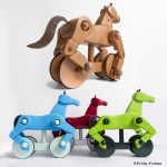 Two Brothers Create An Elegant New Toy You'll Want To Steal From Your Kids: My Wooden Horse.