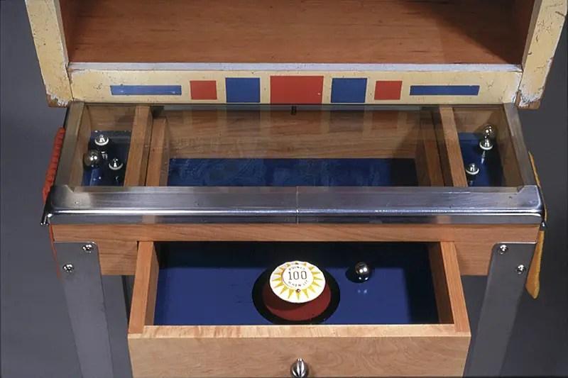 Silverball Re Purposed Vintage Pinball Machines As