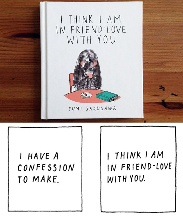 I Think I Am In Friend-Love With Yumi Sakugawa's New Book ...
