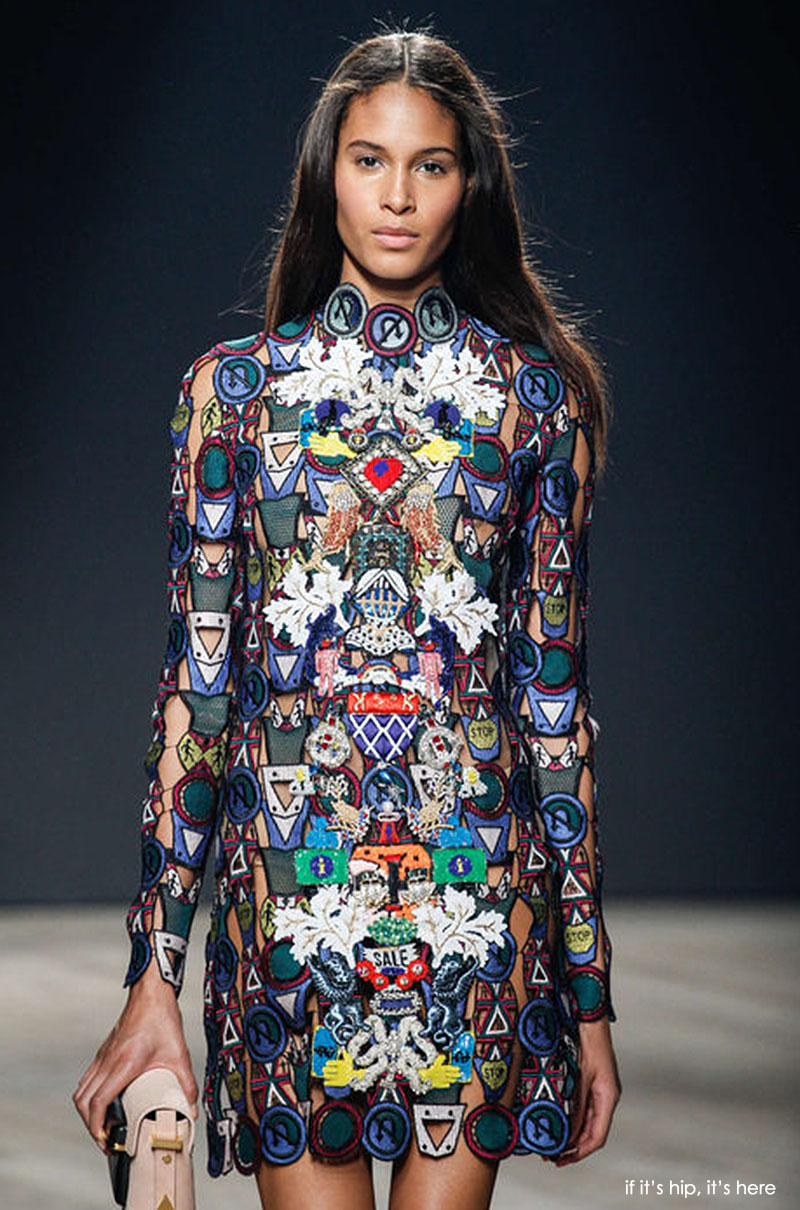Mary Katrantzou 2014 collection on if it's hip it's here