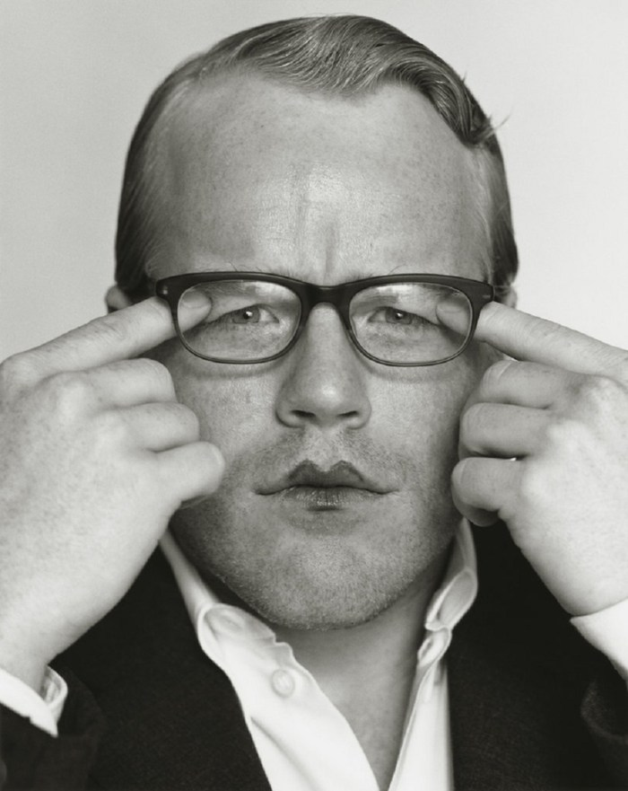 portrait of Philip Seymour Hoffman by Herb Ritts