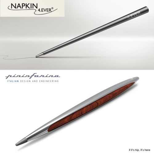Read more about the article Pininfarina & Napkin Collaborate To Create A Pen That Never Needs Ink. Ever.