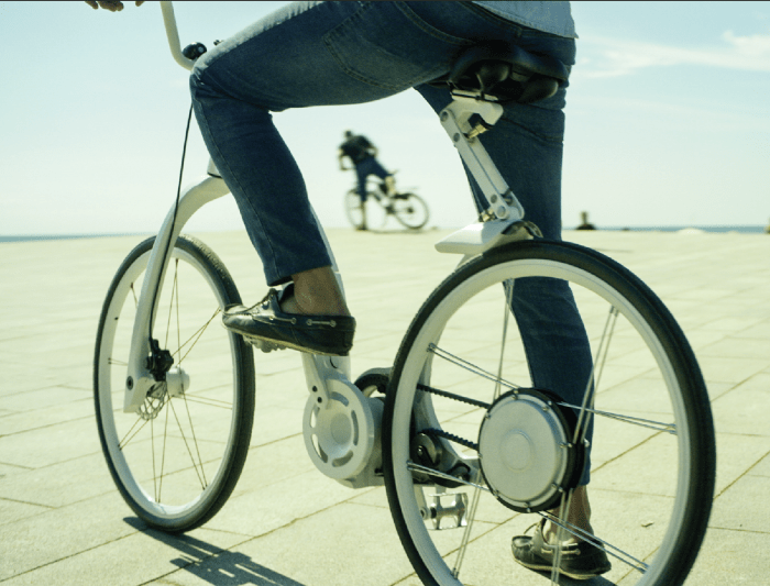 electric folding bike from Argentina
