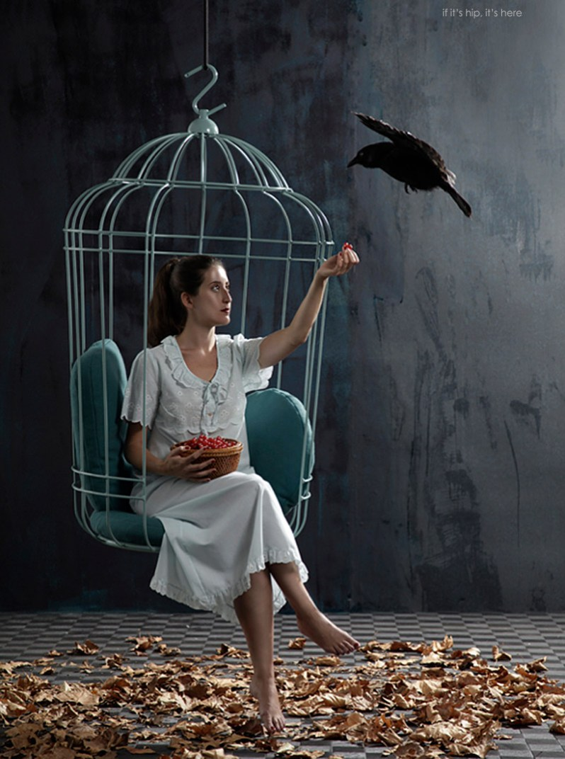 Cageling Chair by Ontwerpduo is a Birdcage for Humans