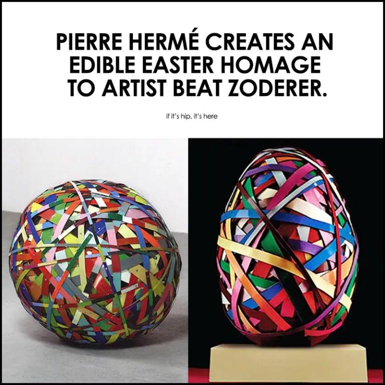 Pierre Herme Beat Zoderer East Egg