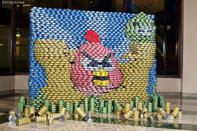 Canstruction Hungry Birds-2
