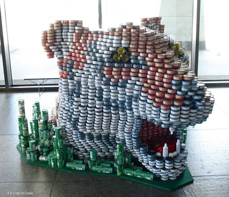 Winners Of The International 2013 2014 Canstruction Competition If It S Hip It S Here