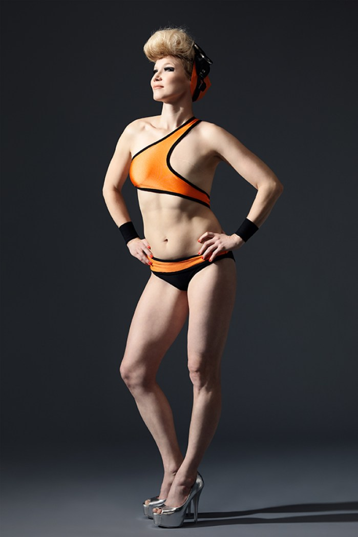 Elina in Swimsuit Design by Elina Halttunen