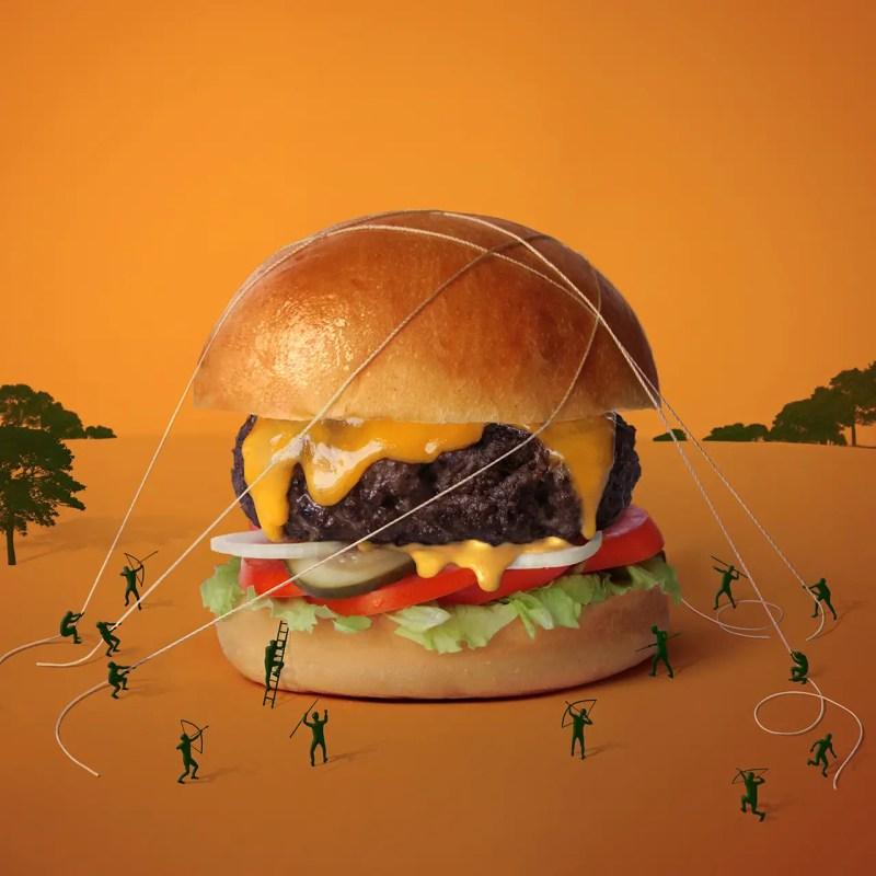 Le Big. Premier des huits burgers de la nouvelle carte du Drugstore Burger House réinterprété par Fat & Furious Burger