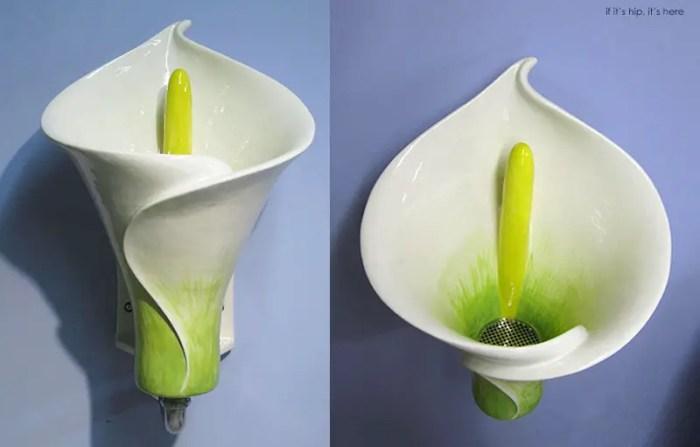 calla lily urinal IIHIH