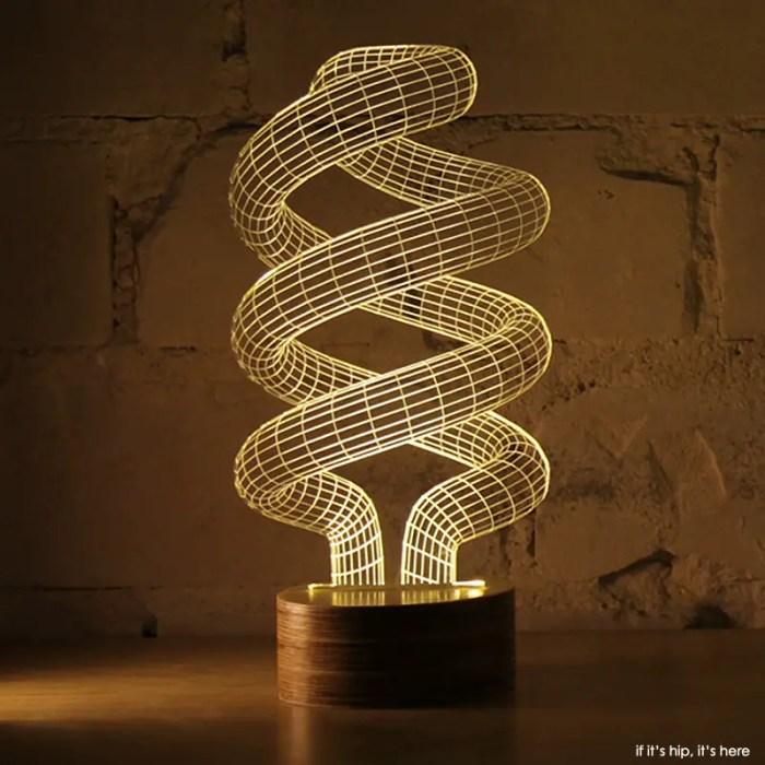 spiral LED lamp IIHIH