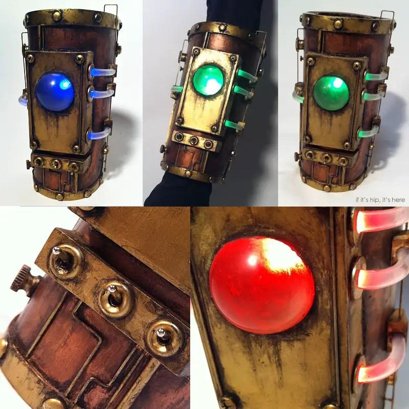 Steampunk Bracer for arm devin smith IIHIH