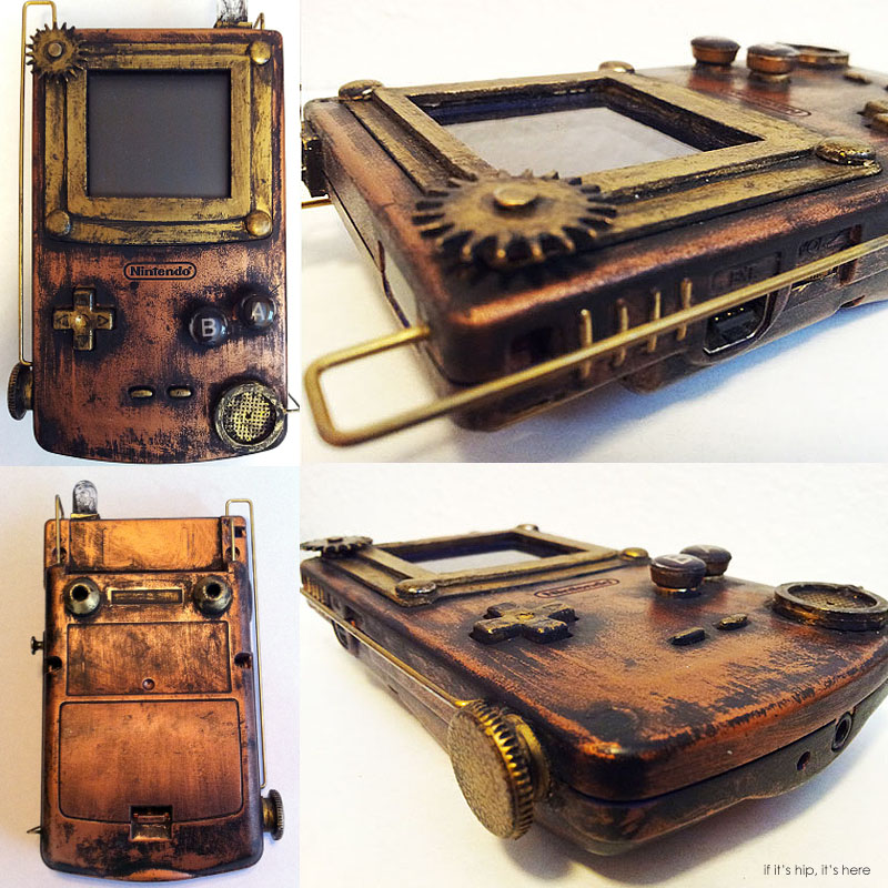 Steampunk Game Boy Controller devin Smith IIHIH